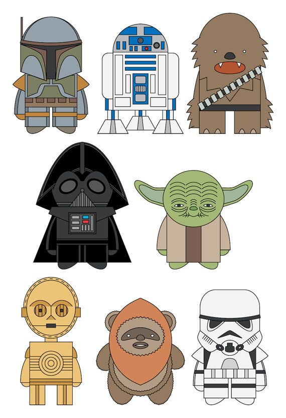 Star Wars by mintparcel on Etsy