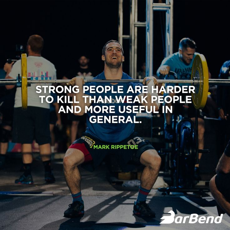 Mark Rippetoe with a great fitness quote to get you motivated.