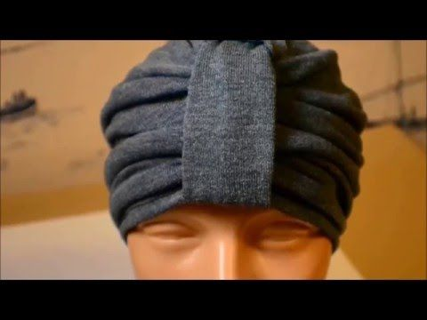 #DIYComo hacer un turbante muy facil #DIYHow to make a turban very easy - YouTube