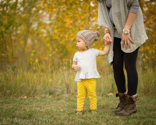 """Here is the free pattern for the """"Toddler Cabled Slouchy Beanie that I made for my daughter Myla..."""