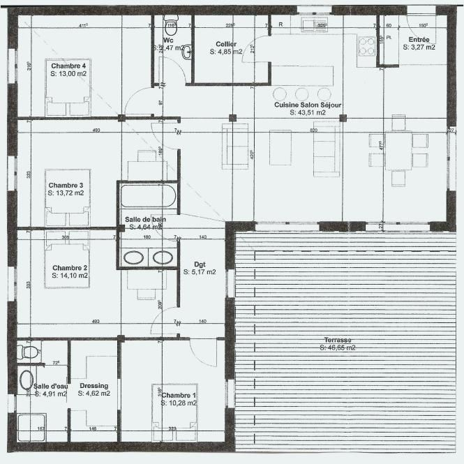 Maison D Architecte Avec Mezzanine Au Style 0