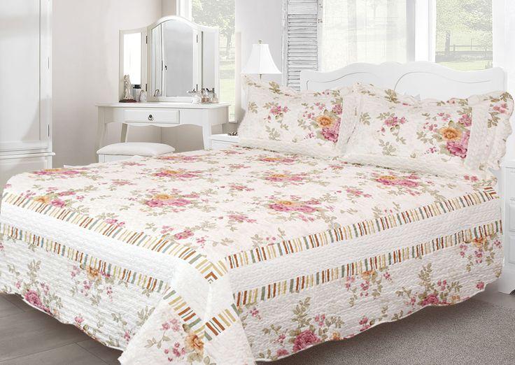 Confira a coleção de Patchwork Casa Elegance que acaba de chegar.  Boutis Luise - www.casadasograenxovais.com.br