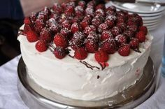 Торт на скорую руку без муки