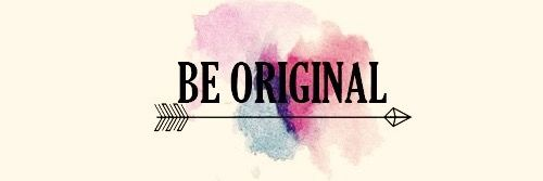 Be Original, Facebook cover