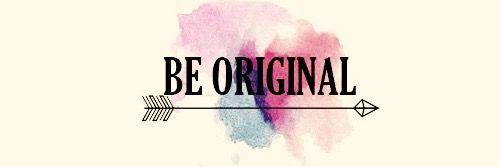 Be Original, Facebook cover