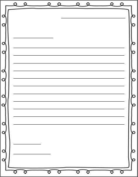 34 best Letter writing images on Pinterest Classroom ideas - friendly letter format