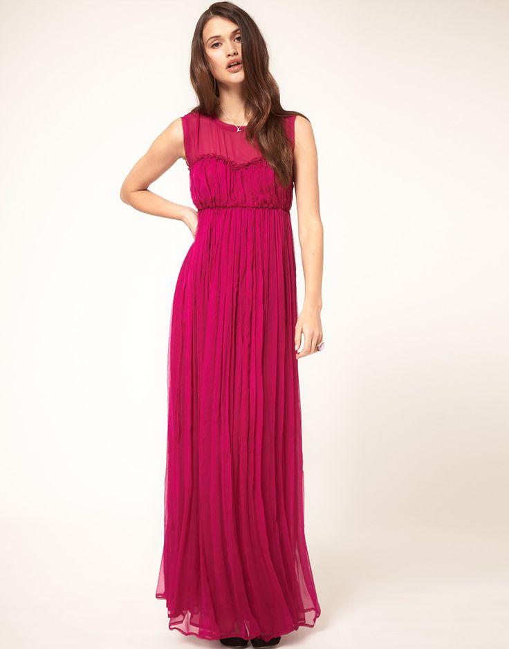 Best wedding guest style maxi dress
