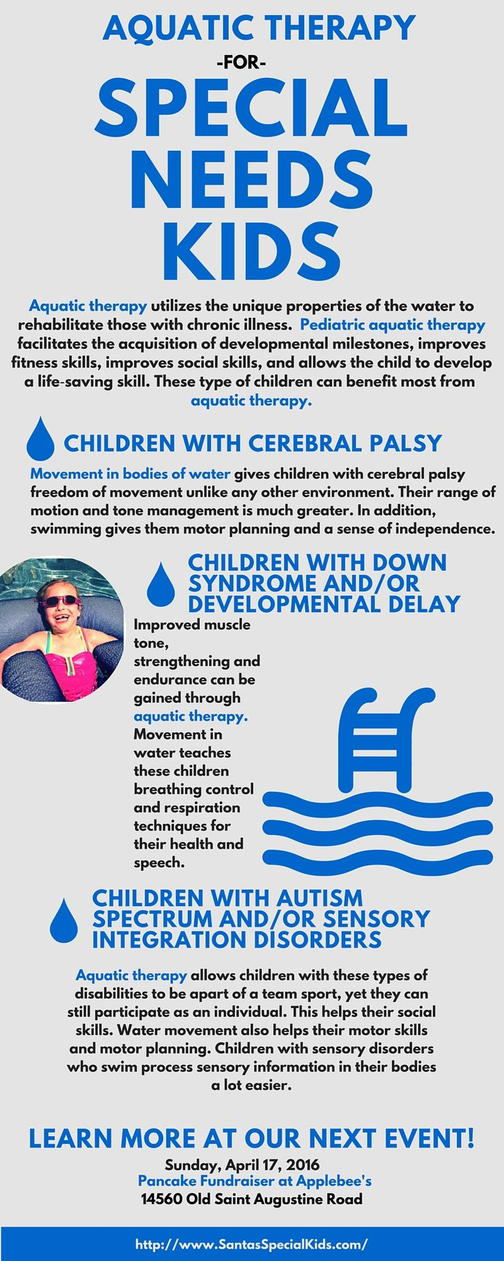 How Aquatic Therapy Helps Special Needs Children Cerebral Palsy Autism Sensory Disorders