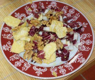 Ricette Gruppo Sanguigno: Radicchio rosso con tofu e noci