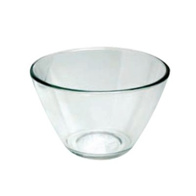 Anchor 94665 4-qt Contemporary Mixing Serving Bowl, Crystal