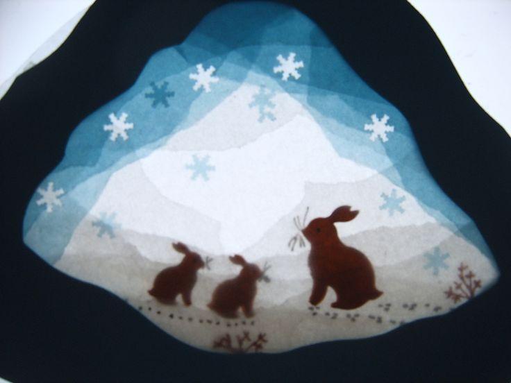 Winter ~ Advent ~ Week Three: The Light of Bird & Beast ~ Transparency