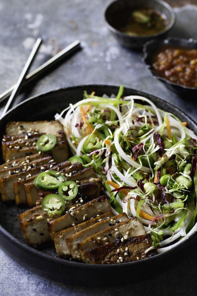 Here's your chicken teriyaki turned vegetarian with a teriyaki tofu recipe that starts with baked teriyaki tofu.