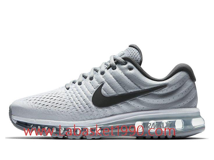 Nike Air Max 2017 849559_101 Chaussures de Running Pas Cher Pour Homme Gris  Noir-Achetez en ligne les articles signés Nike.