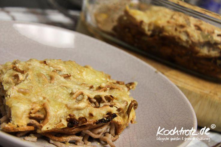 Heute gibt es #glutenfreie #Käsespätzle in meinem Blog. Ich habe sie mit etwas #Kastanienmehl gemacht. Das macht sie besonders lecker. :