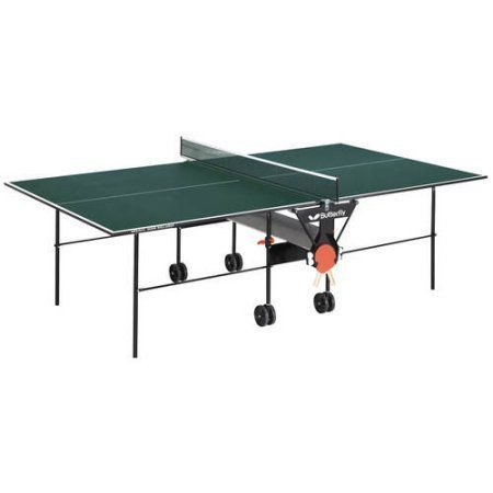 Butterfly Home Rollaway Table Tennis Table, Green