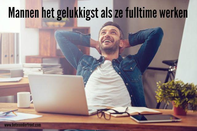 Mannen zijn het gelukkigst als ze fulltime werken