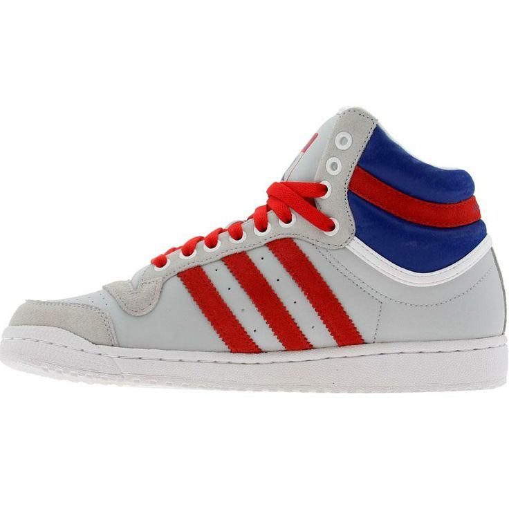 info for 0bd79 f0f24 ... decade high v23140 womens leather royal blue white re Adidas High Tops  Grey Adidas Top Ten High (light grey college red ...
