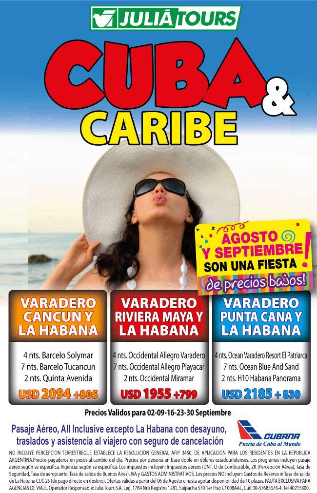 CUBA Y CARIBE ! IMPERDIBLE !