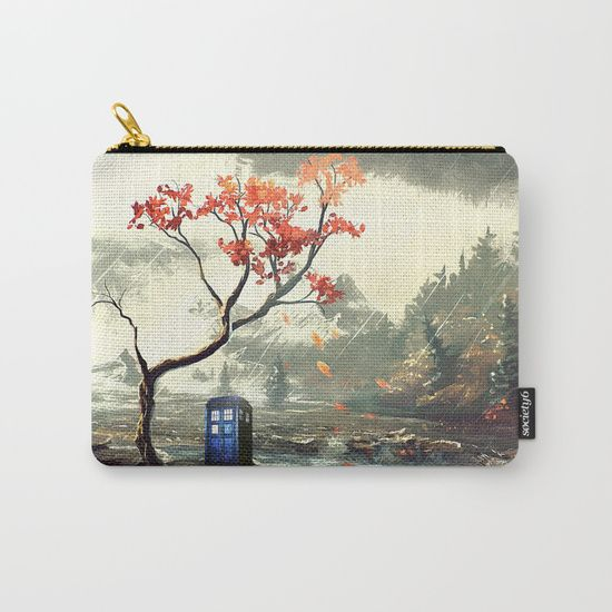 Tardis With A Tree - $15