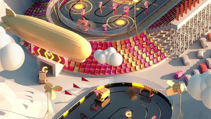 CTC Olympic Games 2014 Idents on Vimeo