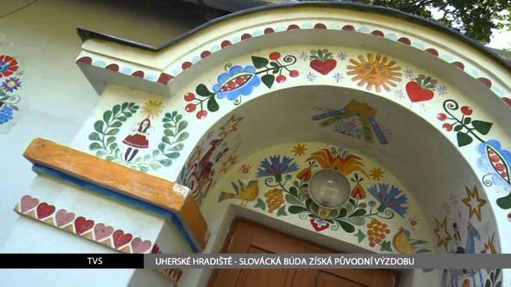 TVS: Uherské Hradiště - Slovácká búda získá původní výzdobu