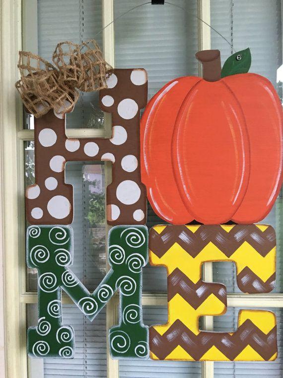 Front door decor door decorations door decor fall by samthecrafter