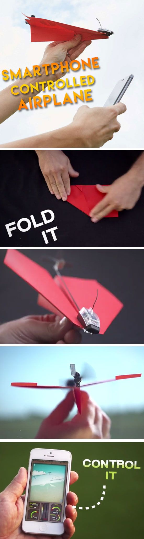 Smartphone Controlled Airplane | DIY Christmas Presents for Brothers | Inexpensive Christmas Gifts for Dad