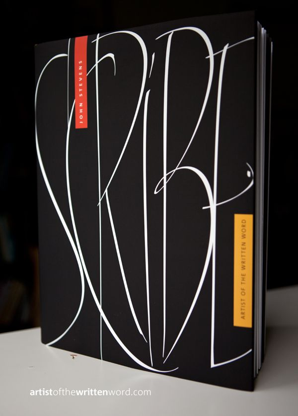 Lettering Book by John Stevens by John Stevens, via Behance
