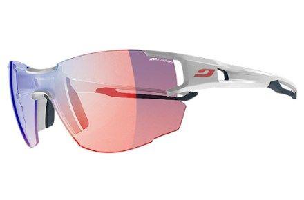 Julbo Women's Aerolite Sunglasses White/Blue Zebra Light
