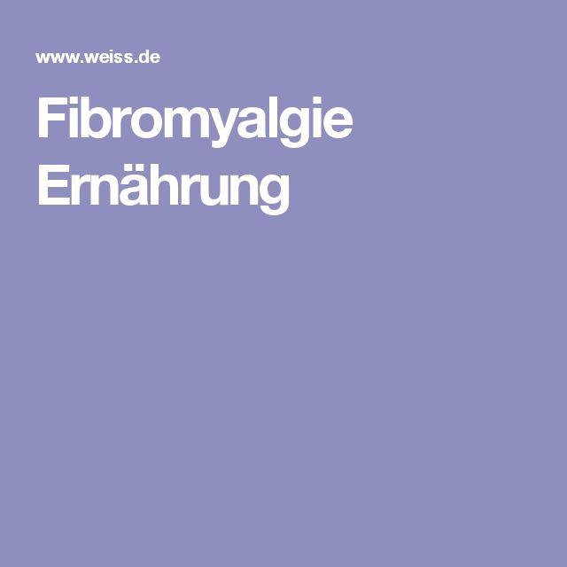Fibromyalgie Ernährung
