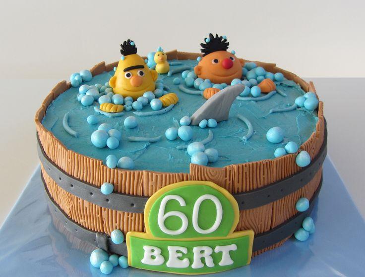 Bert en Ernie taart