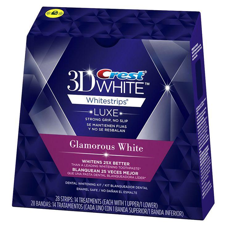 Отбеливающие полоски Crest 3D White Whitestrips Luxe Glamorous White