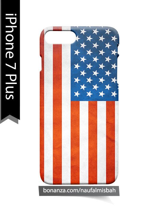 USA American Flag iPhone 7 PLUS Case Cover Wrap Around