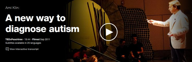 Ami Klin: A new way to diagnose autism | Talk Video | TED.com