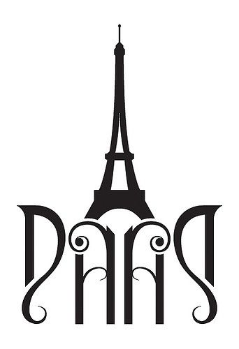 euvieira:  audreylovesparis:  Paris ambigram  …things! ♥♥♥