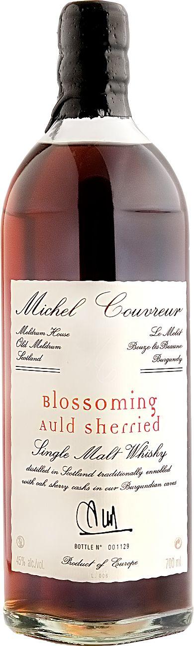 Michel Couvreur Blossoming Auld Sherried single cask single malt