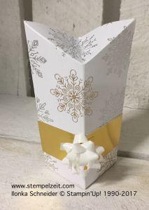 """Stempelzeit (Ilonka): selbstschließende Box mit Rautenverschluss, 15,2 x 15,2 / 6 x 6 """")"""