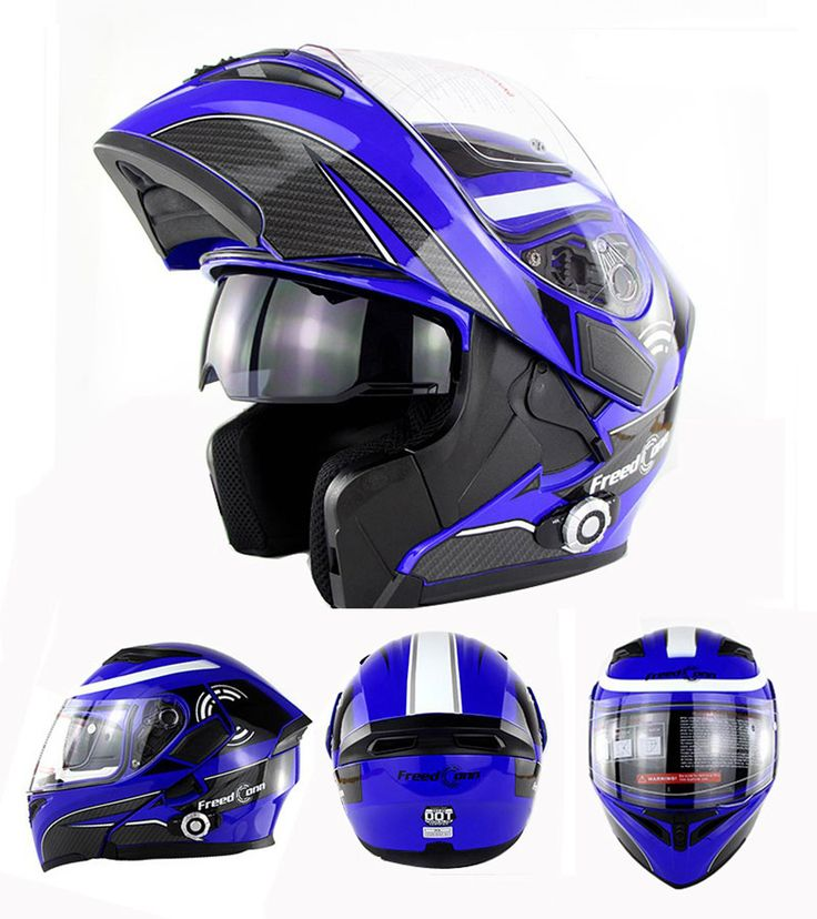Aliexpress.com: Comprar FreedConn Nueva Lente Doble Bluetooth Incorporado 1500 m 8 way Full Duplex Bluetooth Intercom Casco de La Motocicleta Tirón Encima Del Casco Auricular de motorcycle helmet fiable proveedores en SAI YU Supplies Store