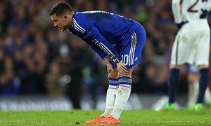 Eden Hazard available for Chelsea FA Cup quarter-final with Everton