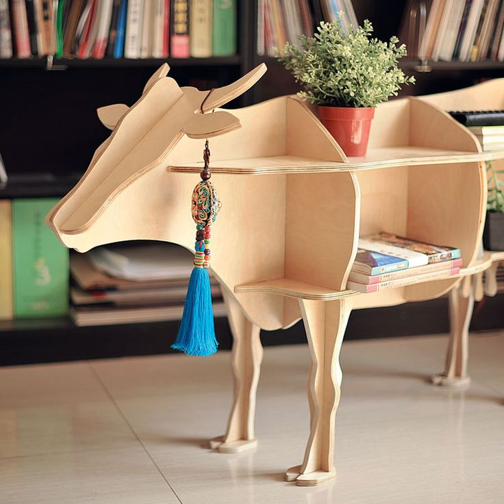 """Cheap shelf home, Buy Quality cow decor directly from China shelf kit Suppliers:      NEW! J&E Wooden Deer home decor coffee table  KING II self-built puzzle furnitureUSD 450.00/pieceJ&E High-end 48.8"""""""