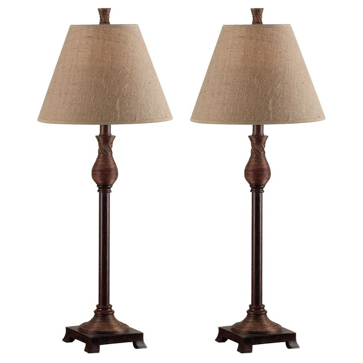 Kenroy Home Mud Hut Table Lamp Natural Woods Spaces