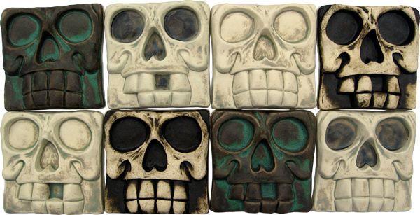 Skull tiles
