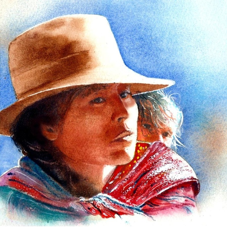 Peru Painting  - Peru Fine Art Print