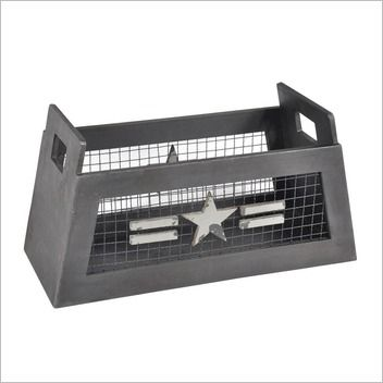 Sounds Like Home Star Industrial Substation Magazine Rack $120