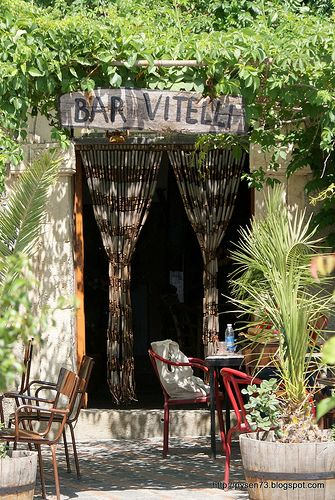 The bar from the film The Godfather I, Savoca