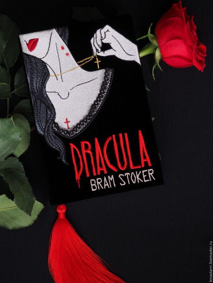 """Купить Клатч-книга """"Дракула"""" - однотонный, клатч, клатч в виде книги, клатч-книга"""