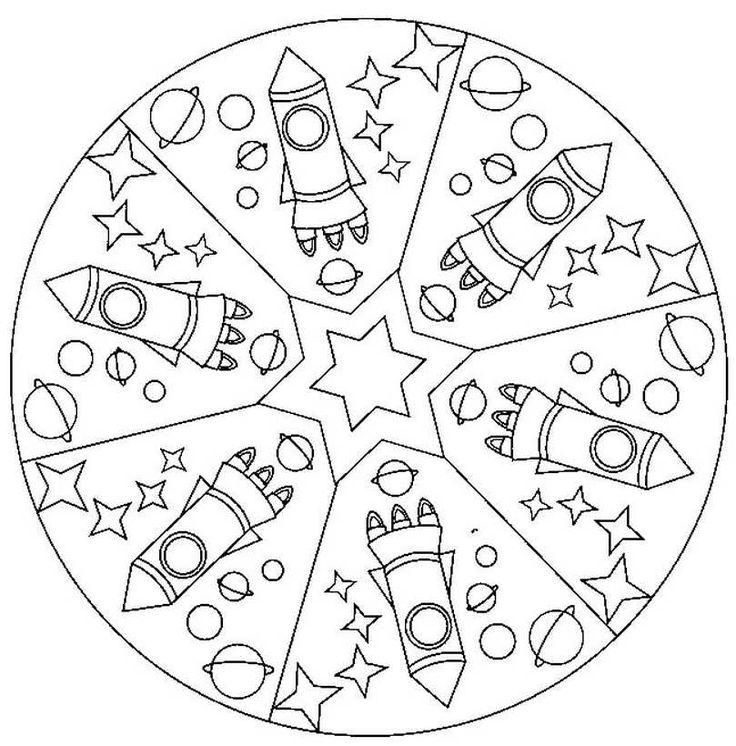 25 b sta mandalas para ni os id erna p pinterest for Mandalas ninos