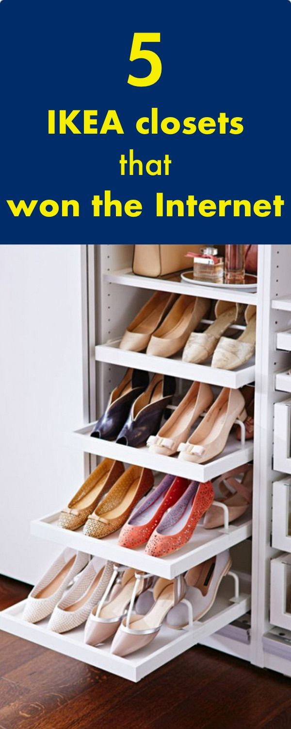 These 5 amazing IKEA closets won the Internet.