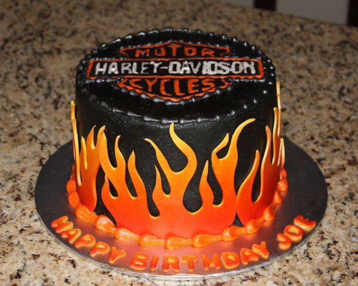 Harley Davidson Cake - Harley Davidson Cake