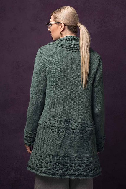 Ravelry: Rorbye Cardigan pattern by Linda Marveng